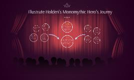 Illustrate Holden's Monomythic Journy
