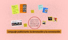 Lenguaje publicitario: la denotación y la connotación