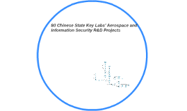 80 Chinese State Key Labs' Aerospace and InfoSec R&D