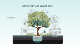 CHILD STUDY AND LESSON PLAN