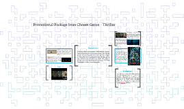 Promotional Package from Chosen Genre – Thriller