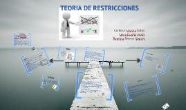 Copy of Teoria de Restricciones