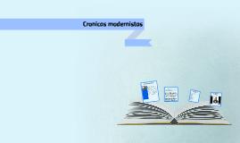 Cronicas modernistas