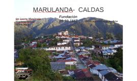 MARULANDA-  CALDAS
