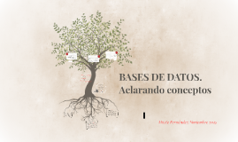 Mayte: Bases de datos