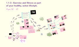 Topic 1.1.3: Exercise and fitness as part of your healthy, active lifestyle