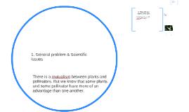 1. General problem & Scientific Issues