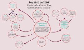 Copy of Copy of Copy of Mapa Mental Ley 1010 de 2006