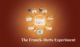 Copy of The Franck-Hertz Experiment