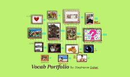 Vocab Portfolio
