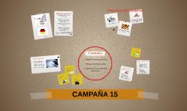 CAMPAÑA 15