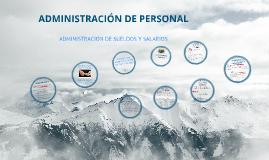 Copy of ADMINISTRACIÓN DE SUELDOS Y SALARIOS