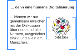 Digital humanities and human digitization