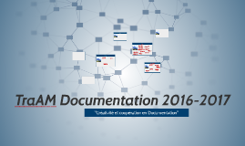 TraAM Documentation 2016-2017