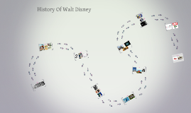 The history of Walt Disney