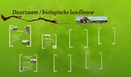 Copy of Duurzaam / biologische landbouw