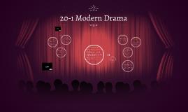 20-1 Modern Drama
