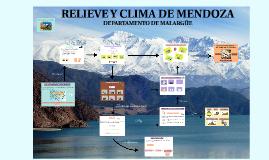 RELIEVE Y CLIMA DE MENDOZA