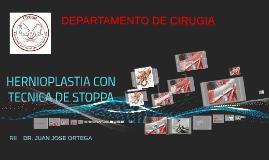 Copy of HERNIOPLASTIA CON TECNICA DE STOPPA
