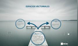 Copy of Espacios Vectoriales