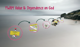 YWAM Value 16: Dependence on God