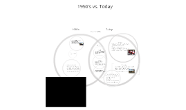 50's vs. Today