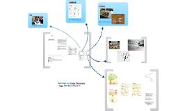 Sammlung von kreativen Lernprodukten