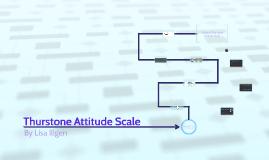 Thurstone Attitude Scale