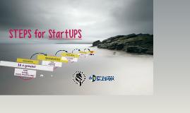 STEPS for StartUPS