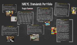NAEYC Standards Portfolio
