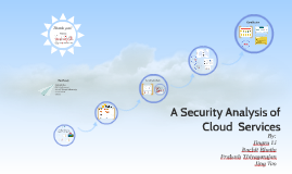 Copy of A Security Analysis of Cloud  Services