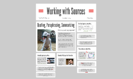 Integrating Sourcework