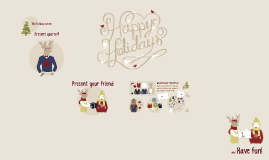 Copy of Copy of Happy Holidays from Prezi!