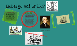 embargo act of 1807 effects