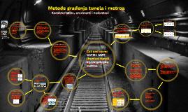 Metode građenja tunela i metroa