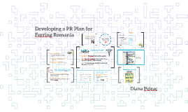 Developing a PR Plan for Ferring Romania