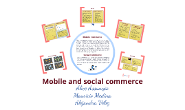 Mobile and social commerce