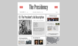 Copy of The Presidency