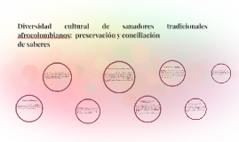 Diversidad cultural de sanadores tradicionales afrocolombian