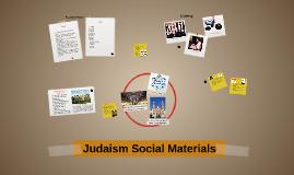 Judaism Social Materials