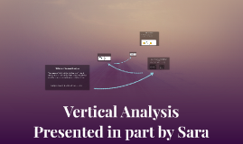 Copy of Vertical Analysis