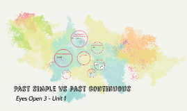 Eyes Open 3 - Unit 1 - Past simple vs past continuous