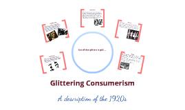 Glittering Consumerism
