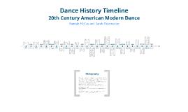 Dance History Timeline by Hannah McCoy on Prezi