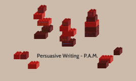 Persuasive Writing - P.A.M.