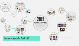 Summer Academy for Youth 2015 Online Gallery