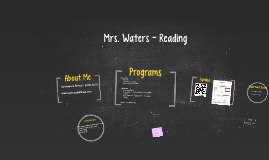 Mrs. Waters - Reading