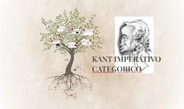 KANT IMPERATIVO CATEGORICO