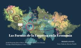 Copy of Copy of Las Formas de la Empresa en la Economía.
