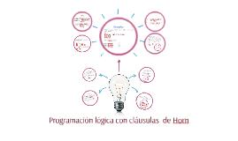 Copy of Programación lógica con cláusulas  de Horn